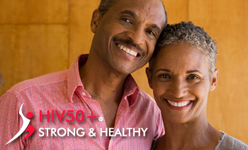 HIV 50+ <span>Strong and Healthy</span>