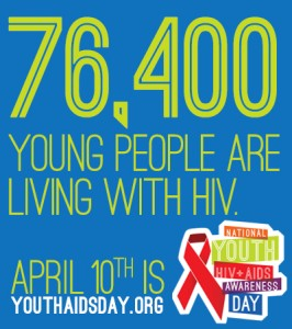 76,400 young people are living with HIV